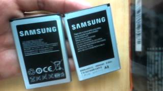 Difference in original/Genuine and fake/Duplicate samsung batteries: Fake v/s Real