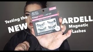Trying Ardell Magnetic Lashes | Lindsay