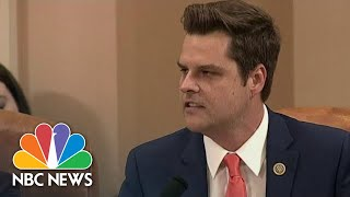 Matt Gaetz Calls Impeachment Process A 'Political Hit Job' | NBC News Video