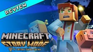 Minecraft: Story Mode Review (Wii U)