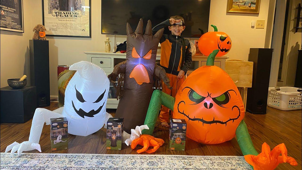 Ryan's 2021 New Monster Halloween Inflatables