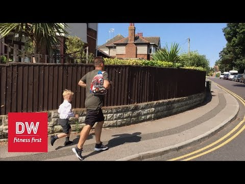 10 Minute Workouts | School Run | DW Fitness First