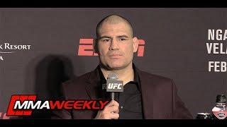 UFC on ESPN 1 Post-Fight Press Conference: Cain Velasquez  (Complete)