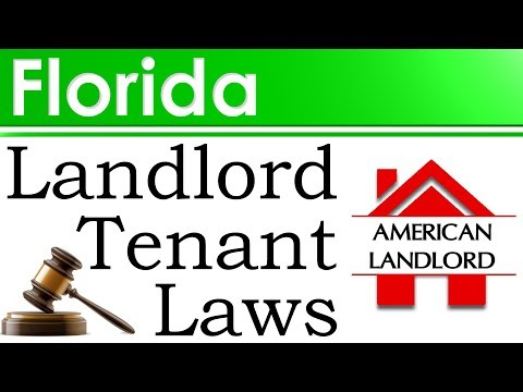 Florida Landlord Tenant Laws   American Landlord