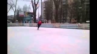 Катание на коньках. Перебор.