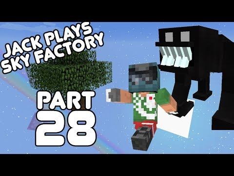 Beneath the Dragons!? Jack plays Sky Factory Part 28!