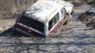 STUCK, BROKE & BUSTED!! MUD TRUCKS - SECOND HOLE SABINE RIVER RATS!