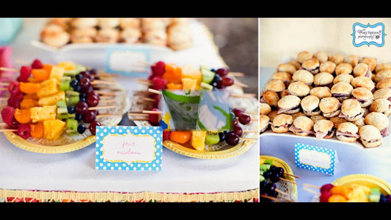 1st Birthday Party Food Ideas