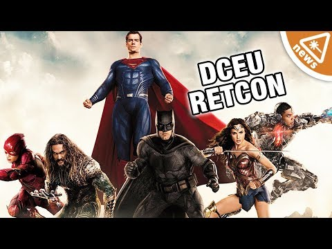 Why Justice League Could Be Retconning the DCEU! (Nerdist News w/ Steve Zaragoza)