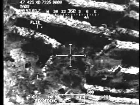 Close combat air support footage