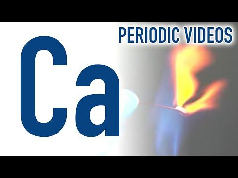 Calcium - Periodic Table of Videos