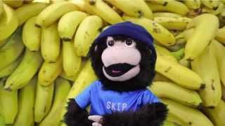 banana rap song abc roundup monkisee