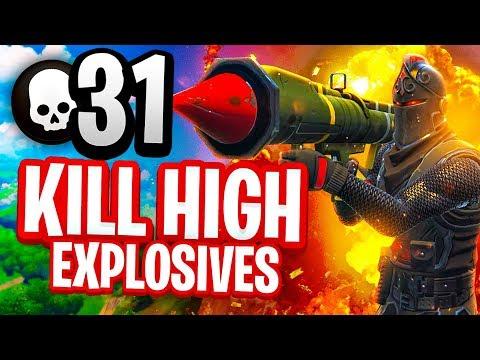 31 KILL HIGH EXPLOSIVES V2 Fortnite Battle Royale Gameplay