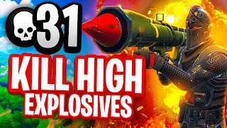 31 KILL HIGH EXPLOSIVES V2 Fortnite Battle Royale Gameplay