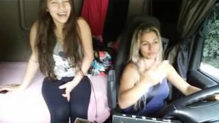 Video Caminhoneira Adriana viaja com seu bb. Mães  guerreiras download MP3, 3GP, MP4, WEBM, AVI, FLV Mei 2018
