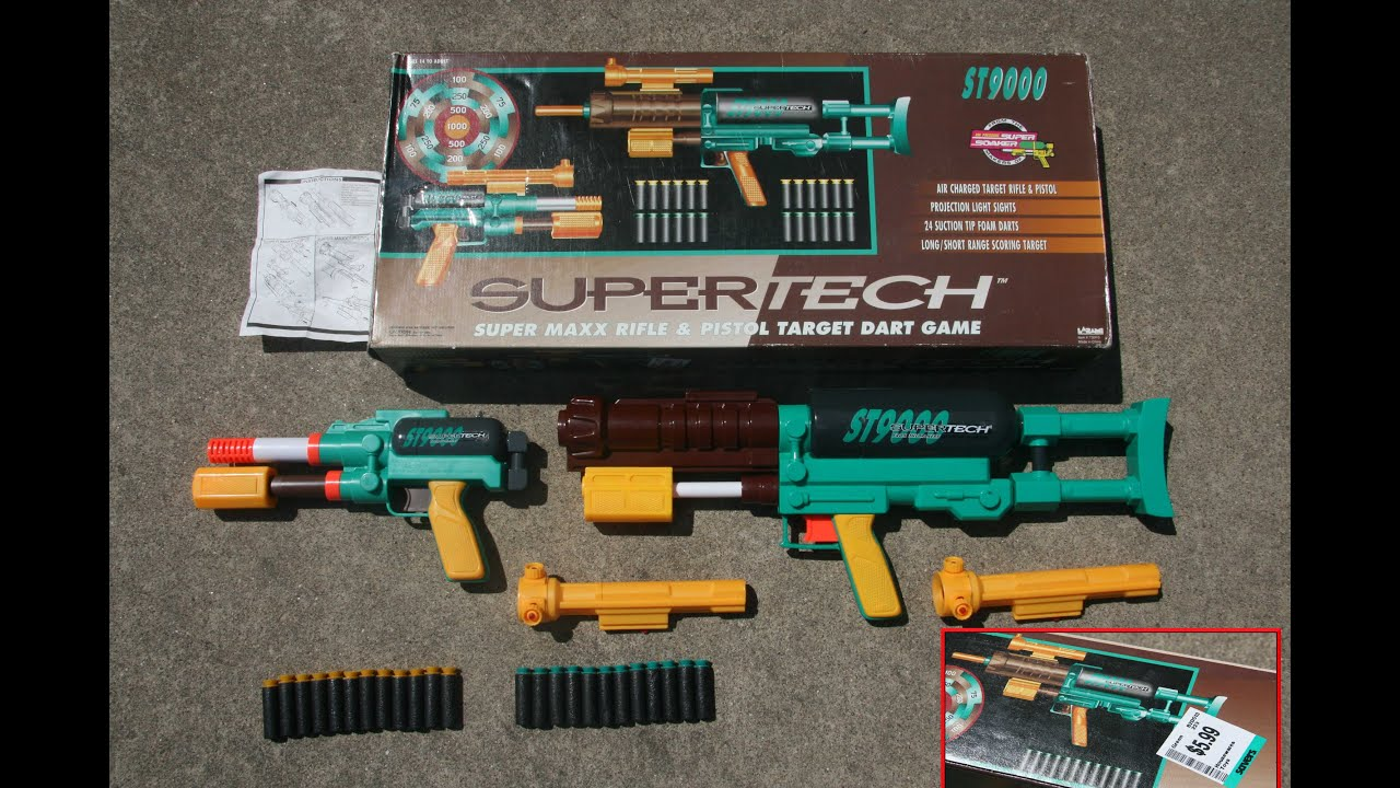 Nerf SuperTech 9000 Unboxing ULTRA RARE FOR SALE