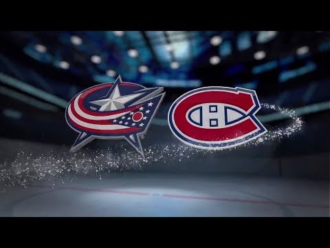 Columbus Blue Jackets vs Montreal Canadiens - Nov. 27, 2017 | Game Highlights | NHL 2017/18. Обзор
