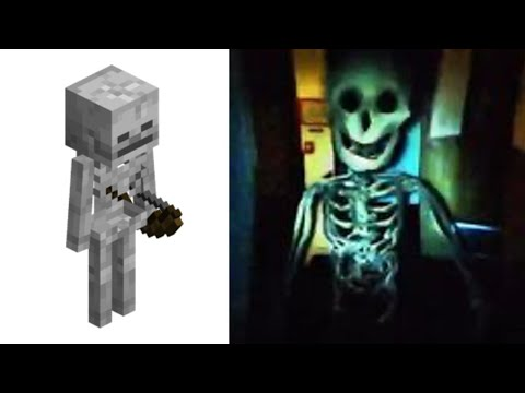 All Minecraft Mobs As Cursed Images