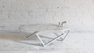 How To Make Diy Marble Table Using A Tile Saw