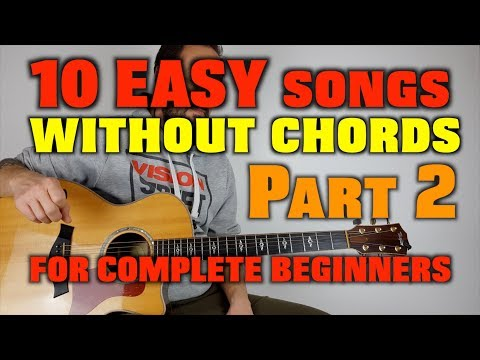 Easy songs without barre chords