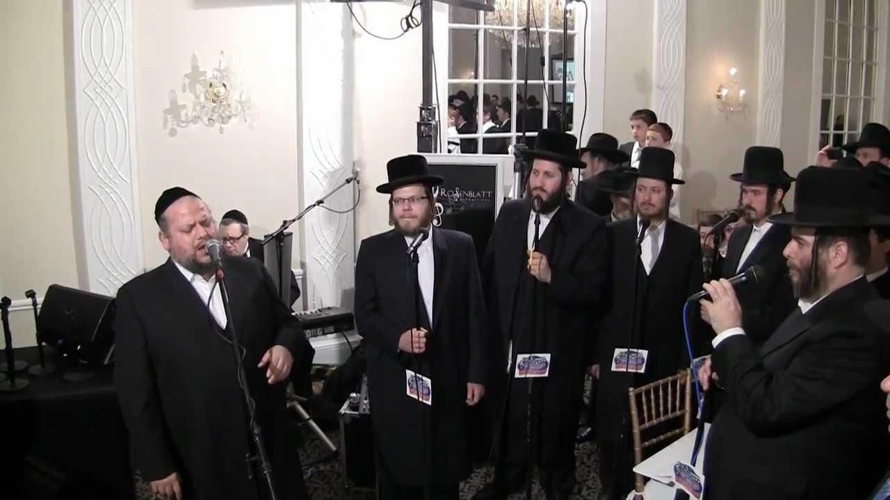 Helfgot and Mezamrim sing Carelbach's Mimkomcha