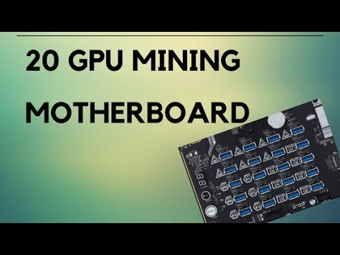 Best New Mining Motherboard For 20 GPU Rig
