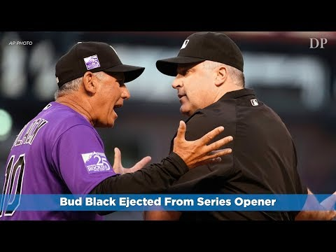 Bud Black Ejected From Series Opener
