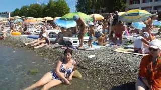 В Лазаревском 25 июня 2016г(отдых в Лазаревском., 2016-07-06T12:51:28.000Z)