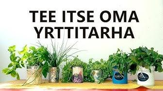 TEE ITSE OMA YRTTITARHA