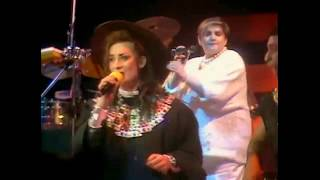 Mister Man ミスター・マン 和訳字幕付き lyrics - Culture Club (KISS ACROSS THE OCEAN / Hammersmith Odeon 1983)