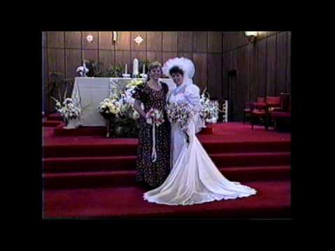 Daniel and Darcy Hutten Wedding Video 5 26 1991