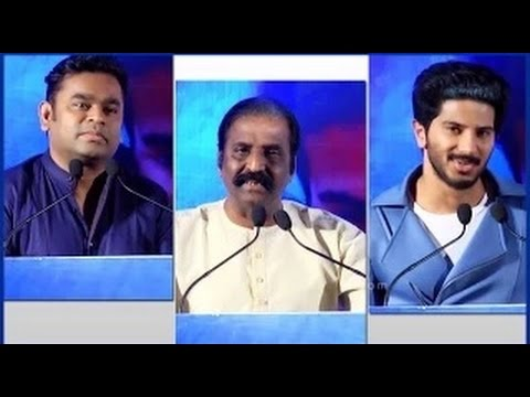Dulquer Salmaan at Ok Kanmani Audio Success Meet | Vairamuthu revealed the movie story