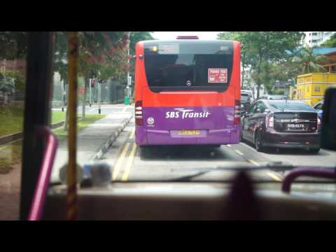 Singapore, Bus Ride To EUNOS MRT Station