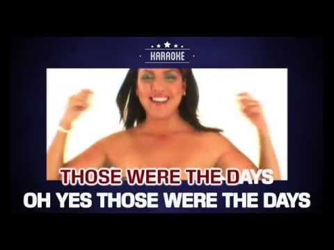 Hermes House Band - Those Were The Days (Karaoke)