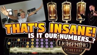 Lightning Roulette BIG WIN -  HUGE WIN!! on Table games from LIVE Stream
