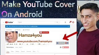 How To Make Youtube Cover Photo On Android in 2560×1440 Size