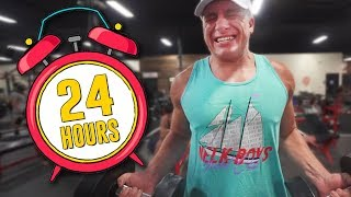 Download Spending 24 Hours in the Gym! - Challenge Mp3 and Videos