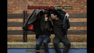 Mustafa Ceceli  bedel Whatsapp ucun romantik video