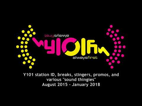 """Y101 station ID, breaks, stingers, jingles, and various """"sound thingies"""""""