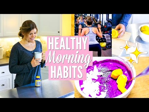 Easy Ways to Have a Healthier Morning Routine | Start Your Day the Right Way!