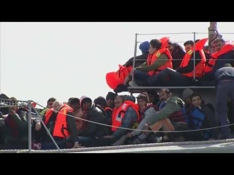 Auffangzentren in Libyen: Flüchtlingskrise wird für Merkel wieder zum Thema