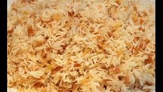 Basmati Rice Pilaf  INDIAN RECIPES  WORLDS FAVORITE RECIPES  HOW TO MAKE