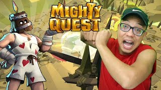 AWESOME NEW GAME Mighty Quest For Epic Loot Gameplay