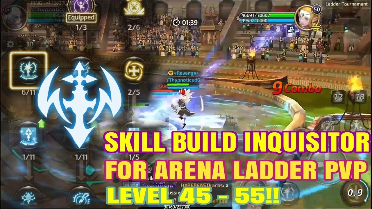 Skill Build Inquisitor Level 45 55 For Ladder PVP Dragon