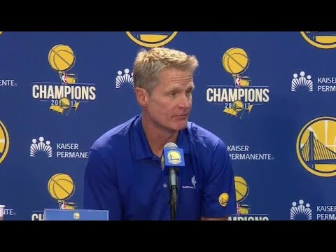 Steve Kerr Press Conference | Warriors Media Day 2018 NBA Season | Sep 22, 2017