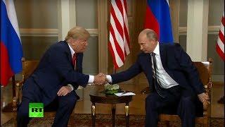 Trump-Putin summit in Helsinki: Talks & protest (MIX FEED) thumbnail