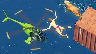 GTA 5 FAILS & WINS: #25 (GTA 5 Epic & Funny Moments Compilation)