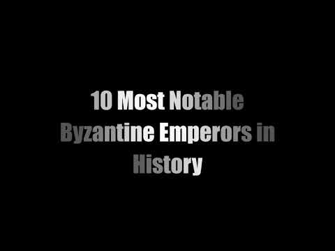 10 Most Notable Byzantine Emperors in History