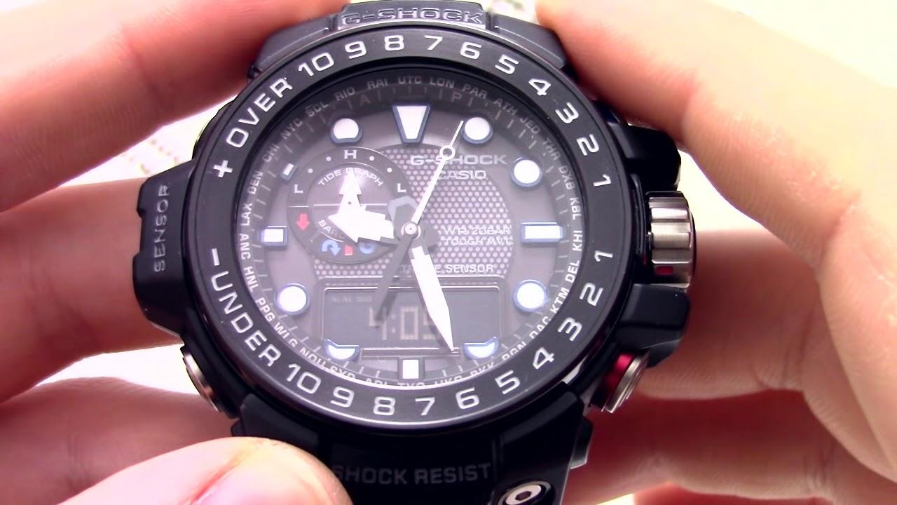 Часы Casio GWN-1000B-1A Часы Armani Exchange AX2169