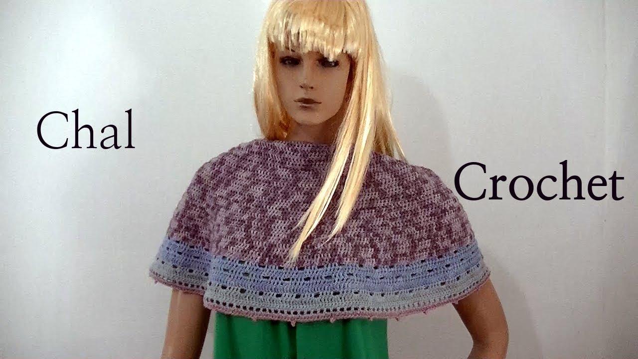 Tutorial paso a paso #chal Media Luna en tejido crochet. Moda a ...